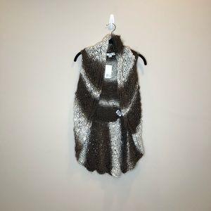 NWT Twenty One Sweater Vest, Sz S
